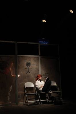 Photo from Improvisation of Caridad Svich's Archipelago.  Photo by Ilkhom Theatre.