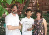 Aziz, our waiter and future interpreter/guide.